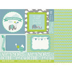 Kaisercraft - Little One Collection - 12 x 12 Double Sided Paper - Cooper