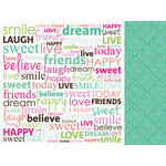 Kaisercraft - Fly Free Collection - 12 x 12 Double Sided Paper - Bestie