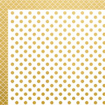 Kaisercraft - A Touch of Gold Collection - 12 x 12 Double Sided Paper - Deluxe