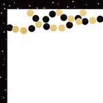 Kaisercraft - A Touch of Gold Collection - 12 x 12 Double Sided Paper - Flashy