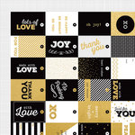 Kaisercraft - A Touch of Gold Collection - 12 x 12 Double Sided Paper - Extravagant