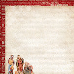 Kaisercraft - Holy Night Collection - Christmas - 12 x 12 Double Sided Paper - Wise Men