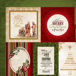 Kaisercraft - Holy Night Collection - Christmas - 12 x 12 Double Sided Paper - Blessing