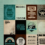 Kaisercraft - Time Machine Collection - 12 x 12 Double Sided Paper - Gadget