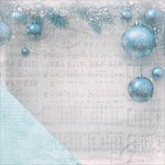Kaisercraft - Silver Bells Collection - Christmas - 12 x 12 Double Sided Paper - Carol