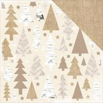 Kaisercraft - Home for Christmas Collection - 12 x 12 Double Sided Paper - Decoration