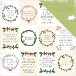Kaisercraft - Home for Christmas Collection - 12 x 12 Double Sided Paper - Season