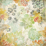 Kaisercraft - Lush Collection - 12 x 12 Double Sided Paper - Cherry Blossom