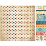Kaisercraft - Seaside Collection - 12 x 12 Double Sided Paper - Coast Line