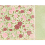 Kaisercraft - English Rose Collection - 12 x 12 Double Sided Paper - Florence