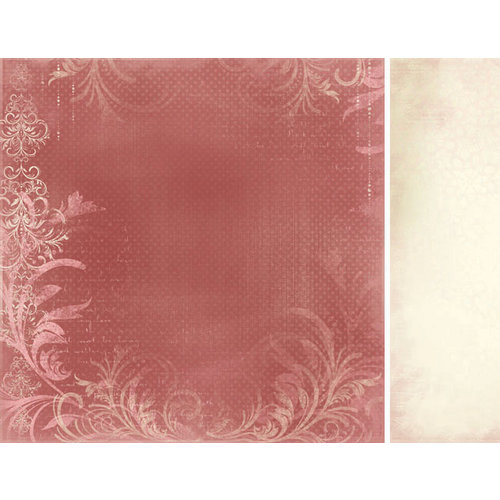 Kaisercraft - English Rose Collection - 12 x 12 Double Sided Paper - Thelma