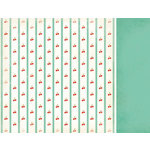 Kaisercraft - Nan's Favourites Collection - 12 x 12 Double Sided Paper - Cherry Tart