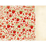 Kaisercraft - Nan's Favourites Collection - 12 x 12 Double Sided Paper - Marmalade