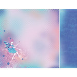 Kaisercraft - Magic Happens Collection - 12 x 12 Double Sided Paper - Fairy Dust