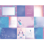 Kaisercraft - Magic Happens Collection - 12 x 12 Double Sided Paper - Topaz