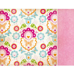 Kaisercraft - Bubblegum Hills Collection - 12 x 12 Double Sided Paper - Tropical Twist