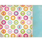 Kaisercraft - Bubblegum Hills Collection - 12 x 12 Double Sided Paper - Calipso Punch