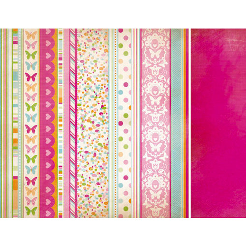 Kaisercraft - Bubblegum Hills Collection - 12 x 12 Double Sided Paper - Candy Confetti