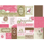 Kaisercraft - Chanteuse Collection - 12 x 12 Double Sided Paper - Marcato