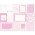 Kaisercraft - Lullaby Collection - 12 x 12 Double Sided Paper - Welcome Home