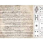 Kaisercraft - Timeless Collection - 12 x 12 Double Sided Paper - Sheet Music