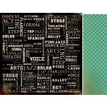 Kaisercraft - Velvet Ensemble Collection - 12 x 12 Double Sided Paper - Entertain