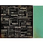 Kaisercraft - Velvet Ensemble Collection - 12 x 12 Double Sided Paper - Entertain