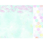 Kaisercraft - Pink Gelato Collection - 12 x 12 Double Sided Paper - Blueberry