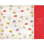Kaisercraft - Little Toot Collection - 12 x 12 Double Sided Paper - Screech