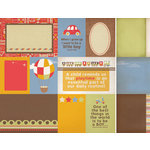 Kaisercraft - Little Toot Collection - 12 x 12 Double Sided Paper - Bumper