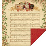 Kaisercraft - December 25th Collection - Christmas - 12 x 12 Double Sided Paper - Peace