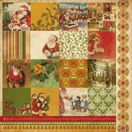 Kaisercraft - December 25th Collection - Christmas - 12 x 12 Double Sided Paper - Love