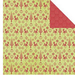 Kaisercraft - Silly Season Collection - Christmas - 12 x 12 Double Sided Paper - Elf