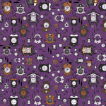 Kaisercraft - 13th Hour Collection - Halloween - 12 x 12 Double Sided Paper - Dusk