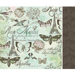 Kaisercraft - Bonjour Collection - 12 x 12 Double Sided Paper - Paris