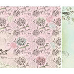 Kaisercraft - Bonjour Collection - 12 x 12 Double Sided Paper - Provence