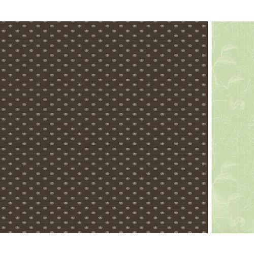 Kaisercraft - Bonjour Collection - 12 x 12 Double Sided Paper - Madeleine