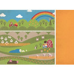 Kaisercraft - Cock-a-doodle-doo Collection - 12 x 12 Double Sided Paper - Oink