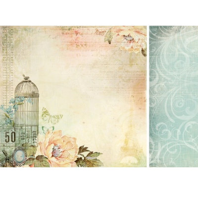 Kaisercraft - Sweet Nothings Collection - 12 x 12 Double Sided Paper - Dozen Roses