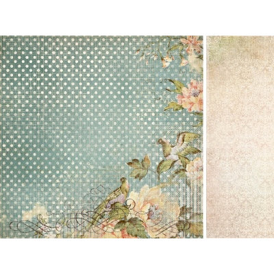 Kaisercraft - Sweet Nothings Collection - 12 x 12 Double Sided Paper - Devoted