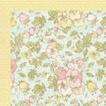 Kaisercraft - Lil' Primrose Collection - 12 x 12 Double Sided Paper - High Tea