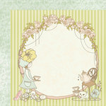 Kaisercraft - Lil' Primrose Collection - 12 x 12 Double Sided Paper - Summer Bonnet
