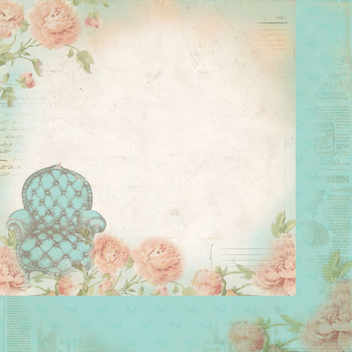 Kaisercraft - Charlottes Dream Collection - 12 x 12 Double Sided Paper - Daze