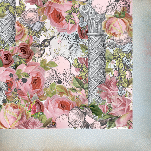 Kaisercraft - The Lakehouse Collection - 12 x 12 Double Sided Paper - Villa