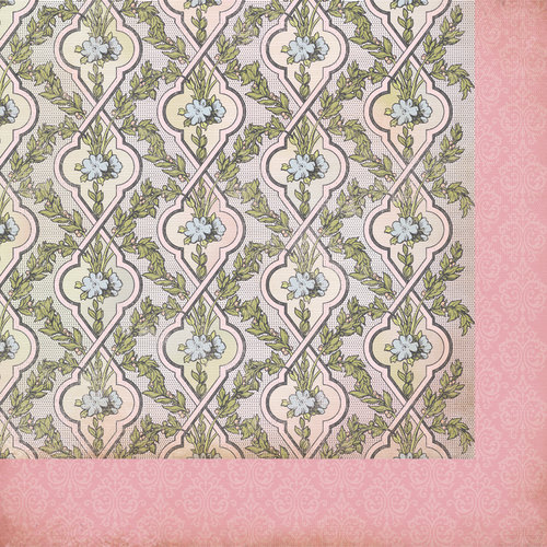 Kaisercraft - The Lakehouse Collection - 12 x 12 Double Sided Paper - Spa