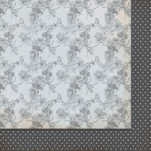 Kaisercraft - The Lakehouse Collection - 12 x 12 Double Sided Paper - Springs