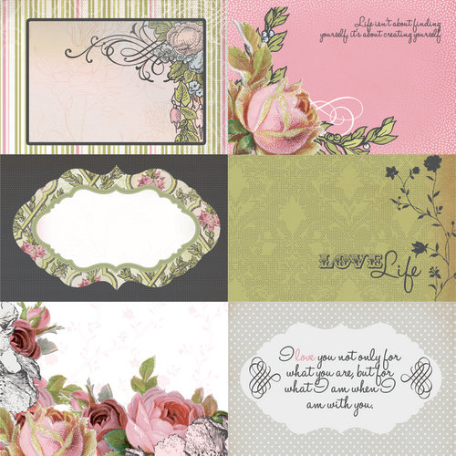 Kaisercraft - The Lakehouse Collection - 12 x 12 Double Sided Paper - Retreat