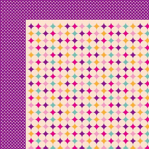 Kaisercraft - Butterfly Kisses Collection - 12 x 12 Double Sided Paper - Giggly