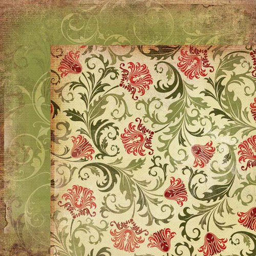 Kaisercraft - Twig and Berry Collection - Christmas - 12 x 12 Double Sided Paper - Yuletide