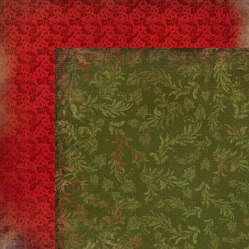 Kaisercraft - Twig and Berry Collection - Christmas - 12 x 12 Double Sided Paper - December